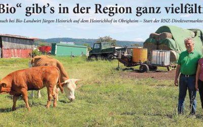 Rhein-Neckar-Zeitung berichtet über den Heinrich Hof